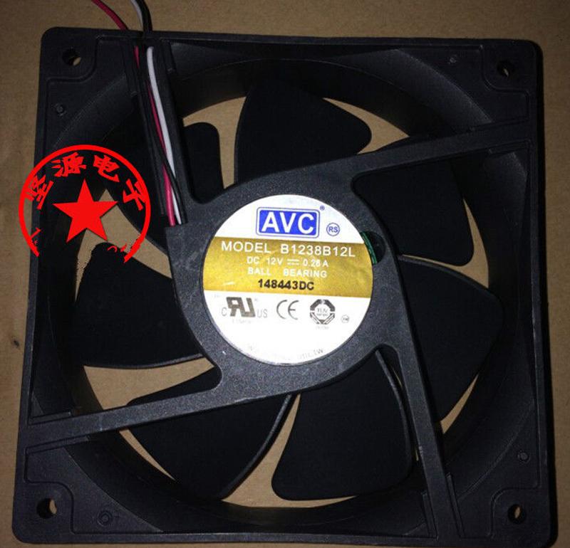 AVC B1238B12L 12cm case fan