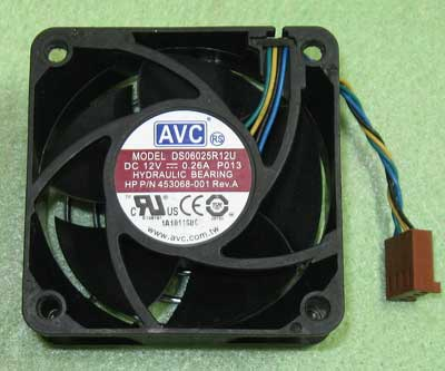 AVC DS06025R12U case fan 60mm x 60mm x 25mm Cooling Fan 4 pin cooling fan