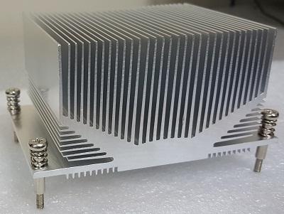 Aluminum And Copper Heatsink for CPU Processor