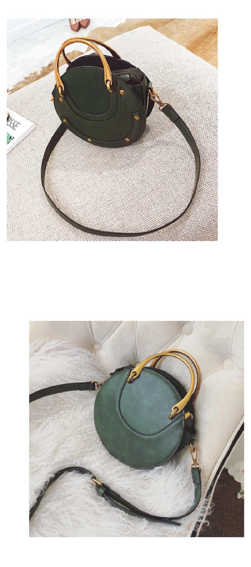 Circle Bag Crossbody Shoulder Bag, Elegant, fashionable yet practical handbag