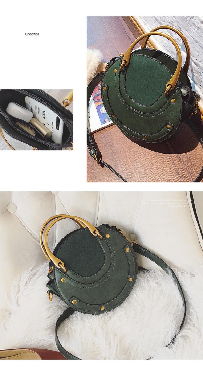 Round Crossbody Shoulder Bag, Circle Bag, Elegant, fashionable yet practical handbag