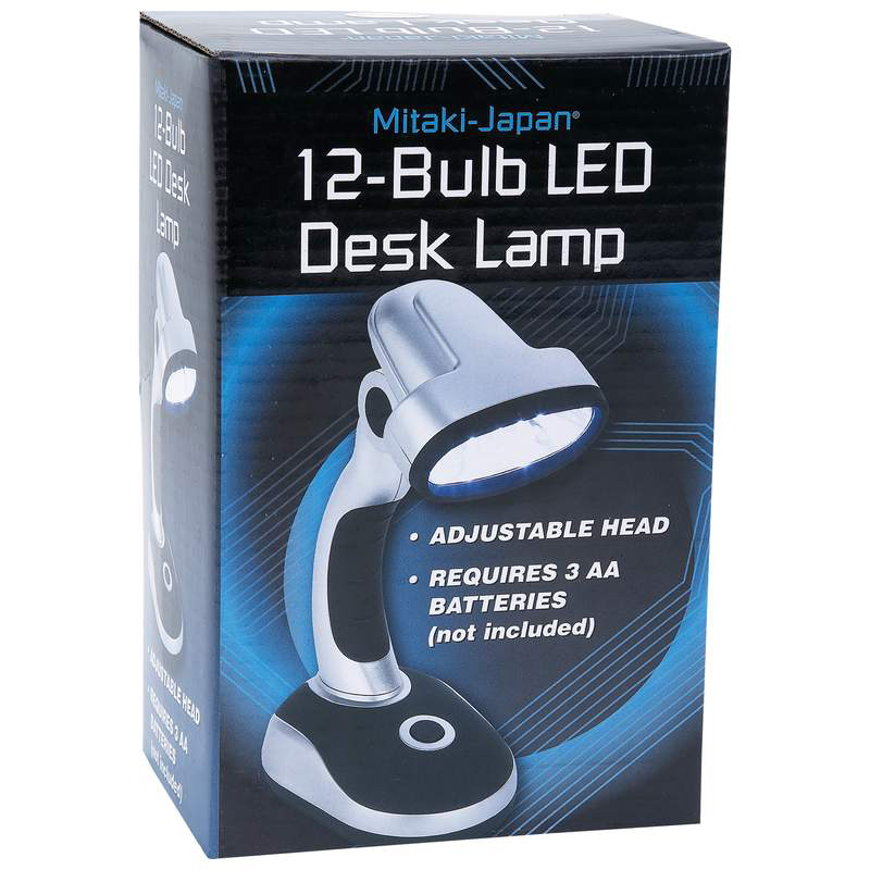 Indoor and Outdoor LED lamp. Portable for camping and outdoor use