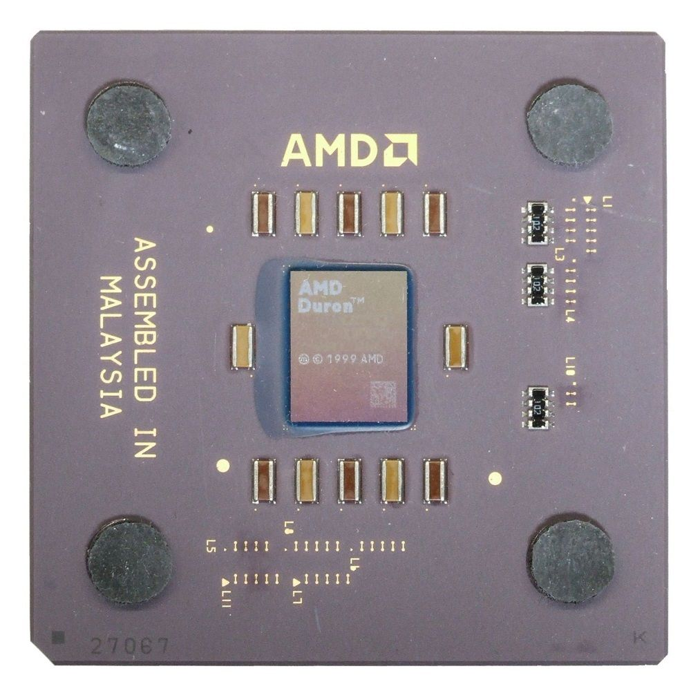 AMD Duron 1200 1200MHz/64KB/200MHz DHD1200AMT1B Morgan Socket A 462 CPU