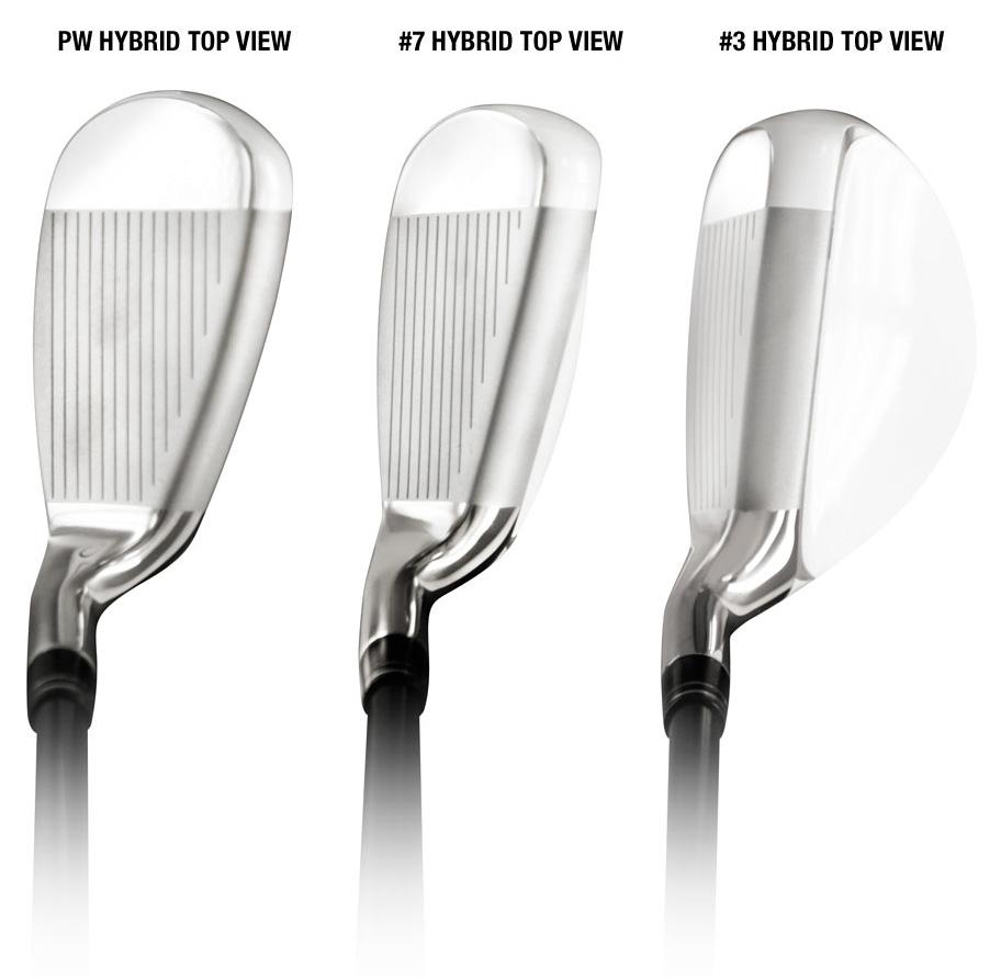 Wide sole hybrid clubs wood like hybrids hybrid golf clubs reviews