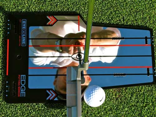 golf training aids, putting aids,edge putting mirror,