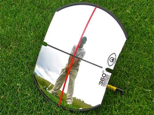 360° Mirror for Full Swing & Putting training aids