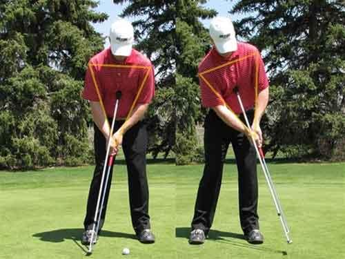 Pendulum Putting Rod training aids