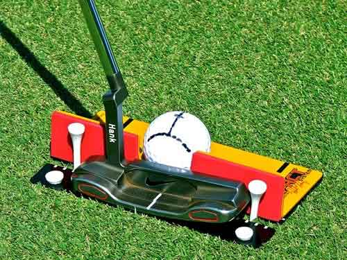 Putting Impact System Training aids
