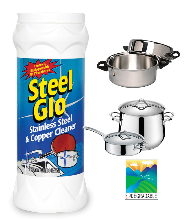 Steel & Copper Cleaner biodegradeable
