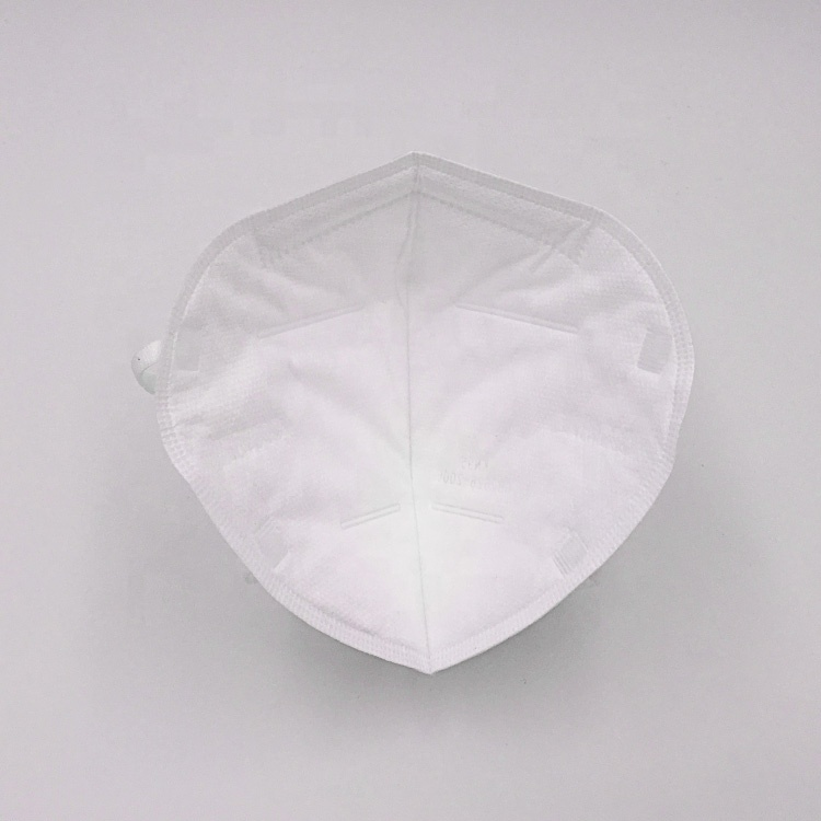 KN95 Disposable Face Mask, 4 layer white mask,for pollution,particles,health,medical,dental,face mask