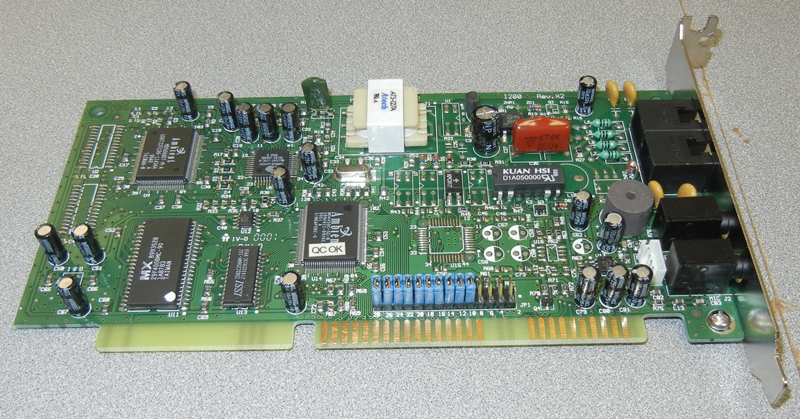 Atech ATS-127A ISA Modem, Ambient chipset