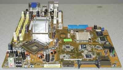 Asus-P5L8L-SE-P motherboard, Used in Asus P1-P5945GC System