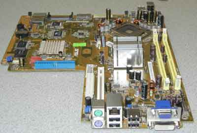 Asus-P5L8L-SE-P motherboard, Used in Asus P1-P5945GC System