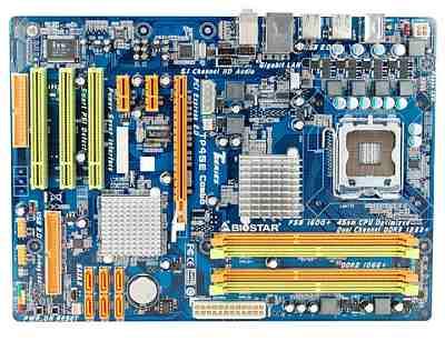 BIOSTAR TP45E Combo Motherboard