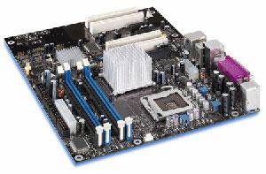 INTEL�D925XECV2 Motherboard Socket�775,Pentium,925XE Chipset,4 PCI,3 PCI express,ddr2,Onboard Audio,Lan,IDE,SATA,AtX Form Factor.