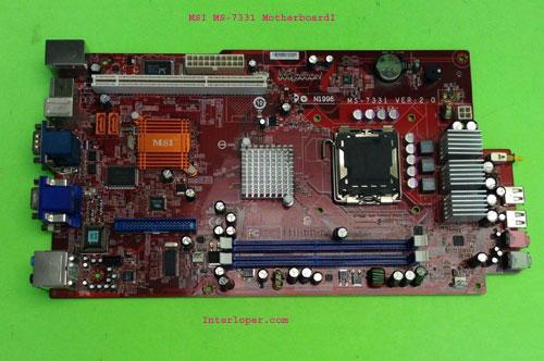 MSI MS-7331 motherboard