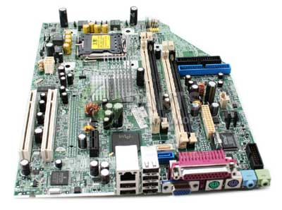 HP DC5100 system board, HP part # SP# 380725-001,