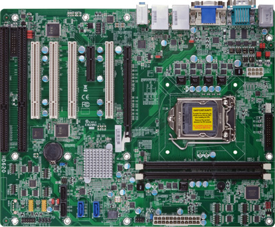 Socket 1150 motherboard with support for 2 ISA slots