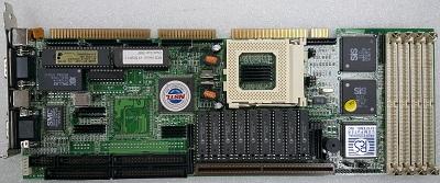 SBC card for ISA slots. Socket 5 -