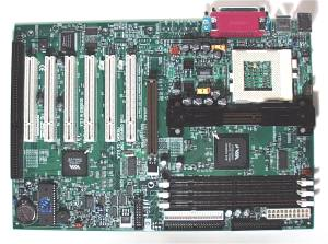 Tyan S1854 motherboard with 1 ISA slot