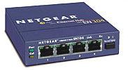netgear en104 hub with bnc port. 4 port 10mbps ethernet hub with BNC / AUI