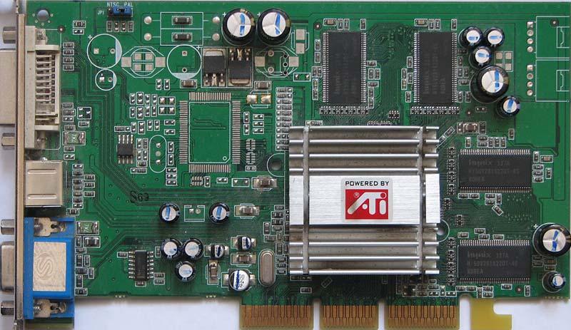 ATI Radeon 9200 256M DDR V/D/VO 256MB DDR AGP Video Card.