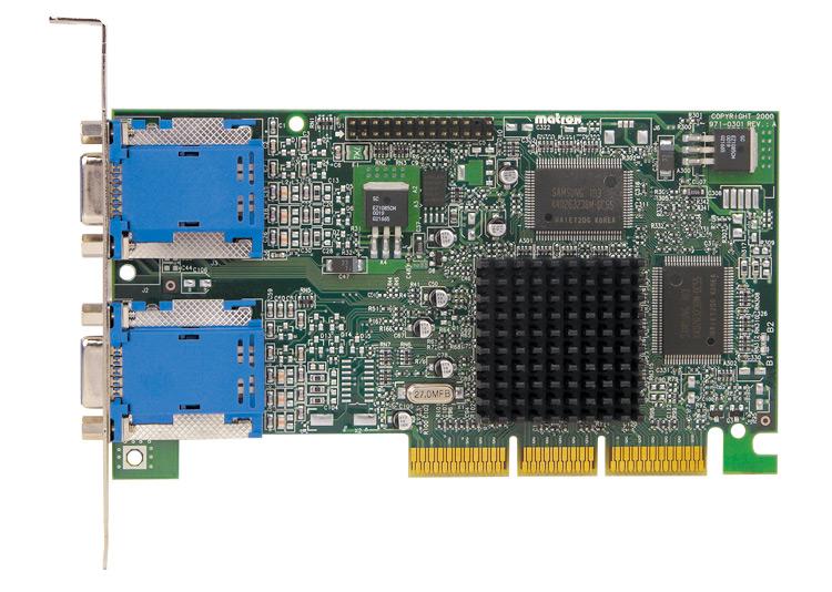 Matrox G45FMDHA32DB 32MB AGP video card